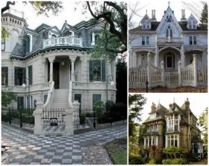 Gothic Victorian Facade