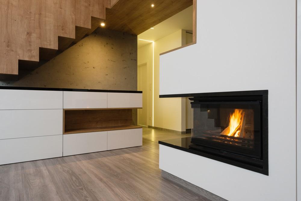 Indoor Modern Fireplace