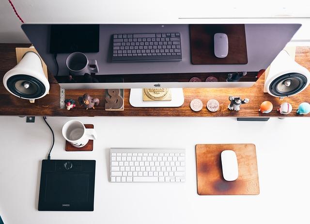 Tech-Efficient Home Office