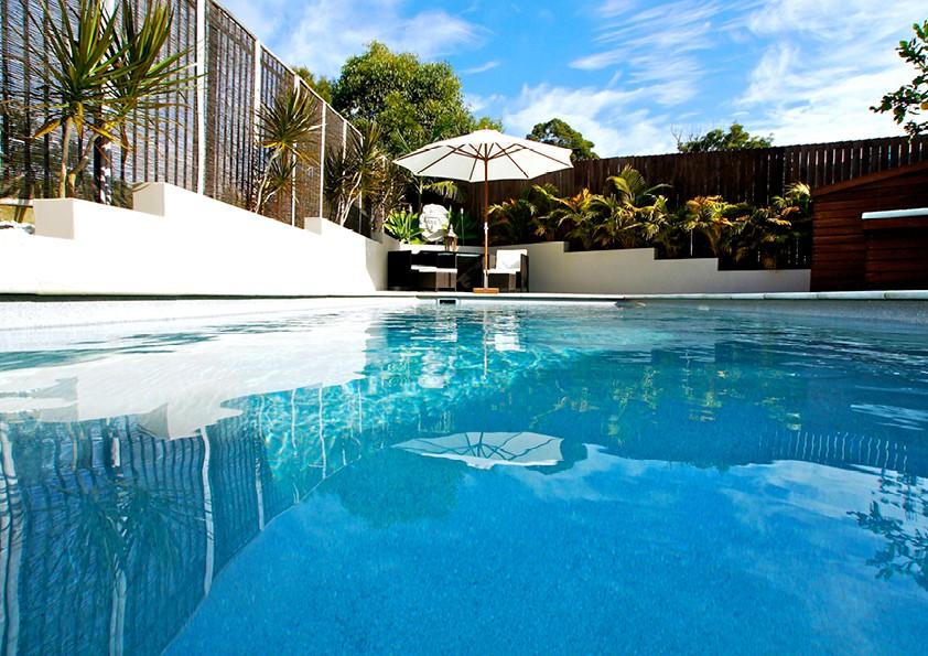 Fiberglass and Concrete Pools